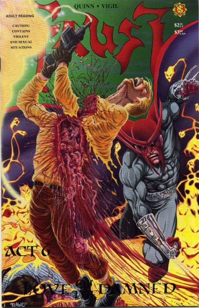 Cover for Faust (Northstar, 1989 series) #6