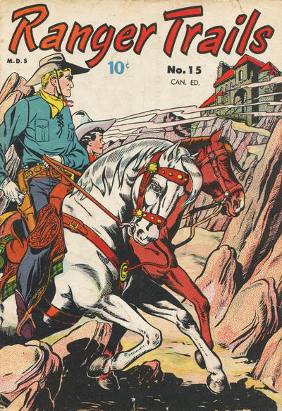 Cover for Ranger Trails (Bell Features, 1950 series) #15