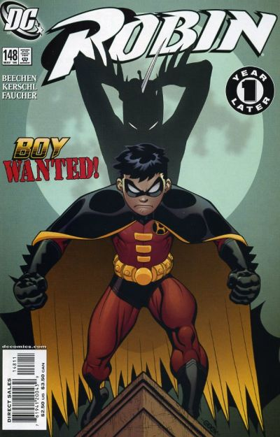 Cover for Robin (DC, 1993 series) #148