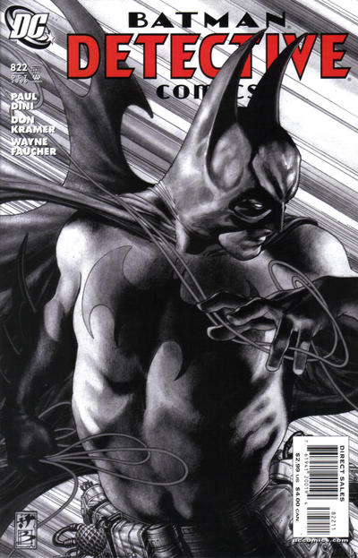 Cover for Detective Comics (DC, 1937 series) #822
