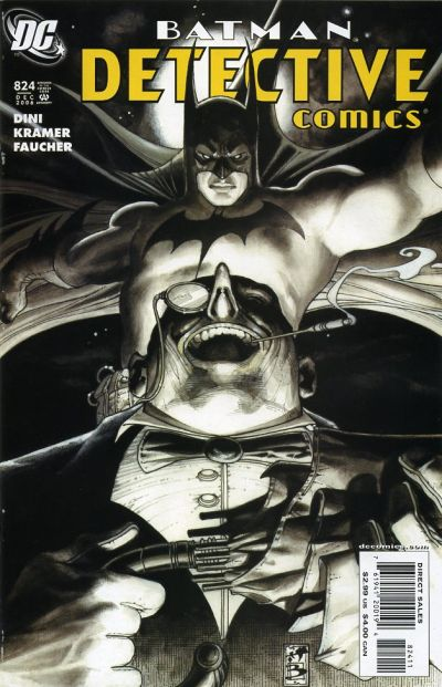 Cover for Detective Comics (DC, 1937 series) #824