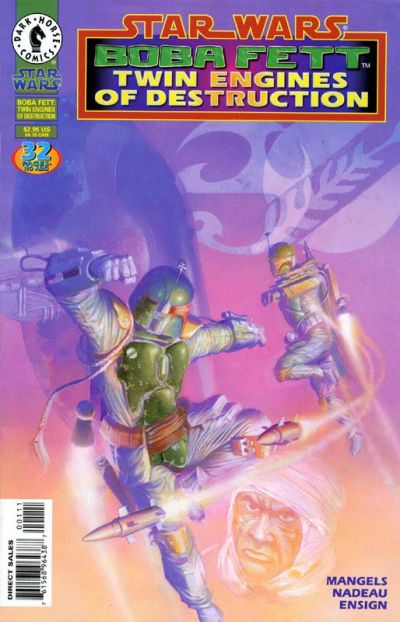 Cover for Star Wars: Boba Fett - Twin Engines of Destruction (Dark Horse, 1997 series)