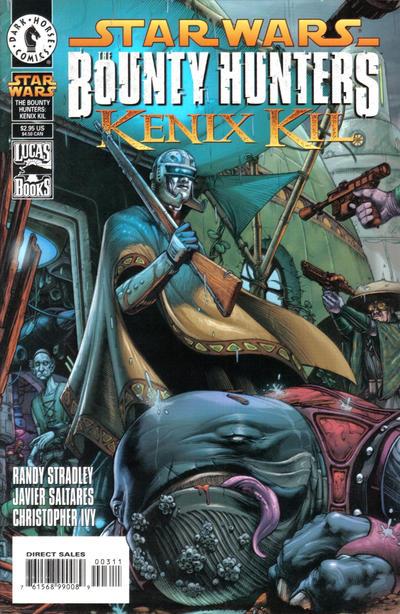 Cover for Star Wars: Bounty Hunters - Kenix Kil (Dark Horse, 1999 series)