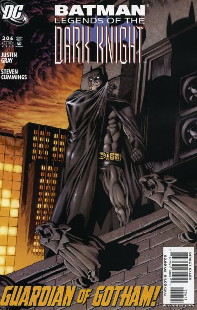 Cover for Batman: Legends of the Dark Knight (DC, 1992 series) #206