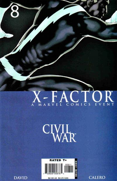 Cover for X-Factor (Marvel, 2006 series) #8