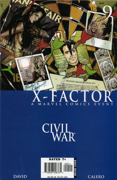 Cover for X-Factor (Marvel, 2006 series) #9