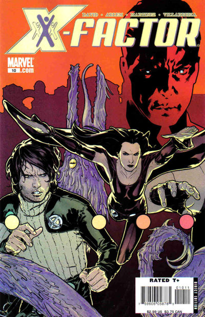 Cover for X-Factor (Marvel, 2006 series) #10 [Direct Edition]