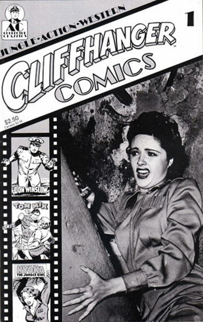 Cover for Cliffhanger Comics (AC, 1990 series) #1