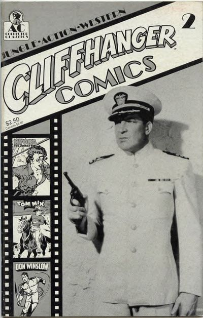 Cover for Cliffhanger Comics (AC, 1990 series) #2