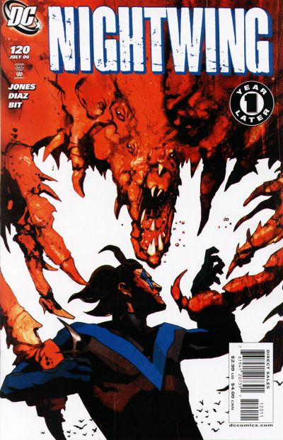 Cover for Nightwing (DC, 1996 series) #120