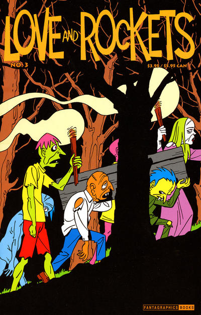 Cover for Love and Rockets (Fantagraphics, 2000 series) #3