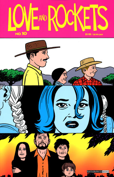 Cover for Love and Rockets (Fantagraphics, 2000 series) #10