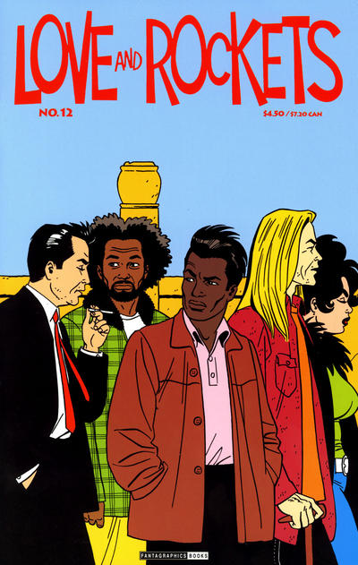 Cover for Love and Rockets (Fantagraphics, 2000 series) #12