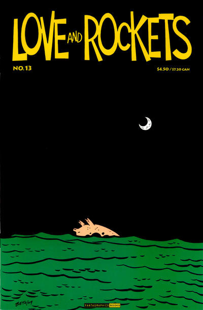 Cover for Love and Rockets (Fantagraphics, 2000 series) #13