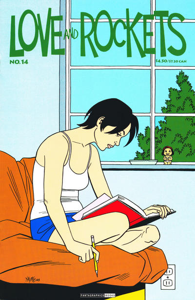 Cover for Love and Rockets (Fantagraphics, 2000 series) #14