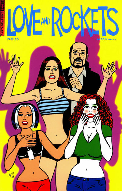 Cover for Love and Rockets (Fantagraphics, 2000 series) #15
