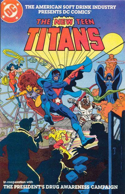 Cover for The New Teen Titans [American Soft Drink Industry] (DC, 1983 series) #[2]