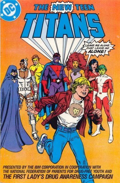 Cover for The New Teen Titans [IBM] (DC, 1983 series) #[3]