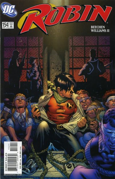 Cover for Robin (DC, 1993 series) #154