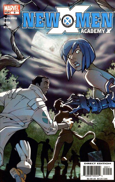 Cover for New X-Men (Marvel, 2004 series) #9