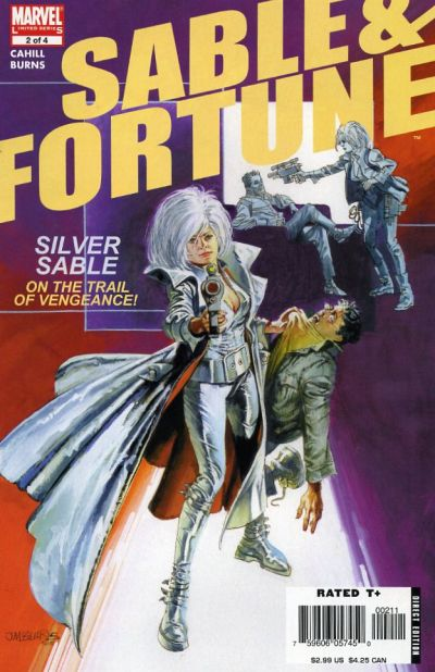 Cover for Sable & Fortune (Marvel, 2006 series) #2