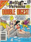 Cover for Betty and Veronica Double Digest Magazine (Archie, 1987 series) #21