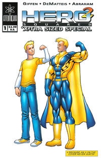 Cover Thumbnail for Hero Squared X-tra Sized Special (Atomeka Press, 2005 series) #1 [Cover A - Kevin Maguire]