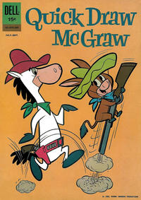 Cover Thumbnail for Quick Draw McGraw (Dell, 1960 series) #11