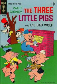 Cover Thumbnail for Walt Disney's The Three Little Pigs (Western, 1964 series) #2