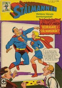 Cover for Stålmannen (Centerförlaget, 1949 series) #18/1967