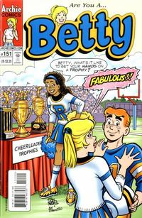Cover Thumbnail for Betty (Archie, 1992 series) #151