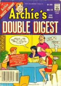 Cover Thumbnail for Archie's Double Digest Magazine (Archie, 1984 series) #18