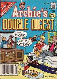 Cover Thumbnail for Archie's Double Digest Magazine (Archie, 1984 series) #25