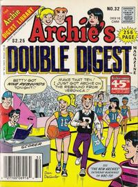 Cover Thumbnail for Archie's Double Digest Magazine (Archie, 1984 series) #32