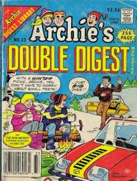 Cover Thumbnail for Archie's Double Digest Magazine (Archie, 1984 series) #33