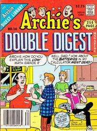 Cover Thumbnail for Archie's Double Digest Magazine (Archie, 1984 series) #34