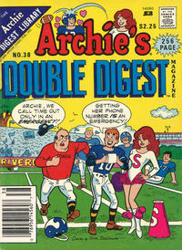 Cover Thumbnail for Archie's Double Digest Magazine (Archie, 1984 series) #38