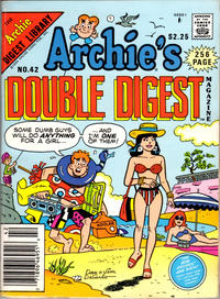 Cover Thumbnail for Archie's Double Digest Magazine (Archie, 1984 series) #42