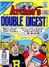 Cover Thumbnail for Archie's Double Digest Magazine (Archie, 1984 series) #46