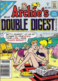 Cover Thumbnail for Archie's Double Digest Magazine (Archie, 1984 series) #48