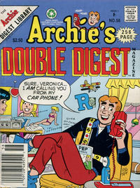 Cover Thumbnail for Archie's Double Digest Magazine (Archie, 1984 series) #58 [Newsstand]
