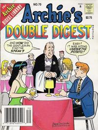Cover Thumbnail for Archie's Double Digest Magazine (Archie, 1984 series) #70