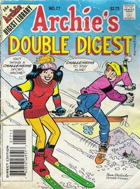 Cover Thumbnail for Archie's Double Digest Magazine (Archie, 1984 series) #77