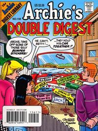 Cover Thumbnail for Archie's Double Digest Magazine (Archie, 1984 series) #156 [Direct]