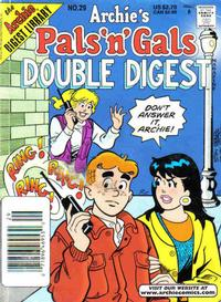 Cover Thumbnail for Archie's Pals 'n' Gals Double Digest Magazine (Archie, 1992 series) #29