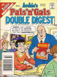 Cover Thumbnail for Archie's Pals 'n' Gals Double Digest Magazine (Archie, 1992 series) #54