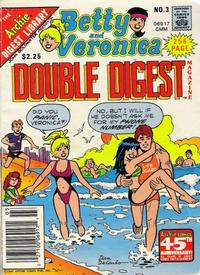 Cover Thumbnail for Betty and Veronica Double Digest Magazine (Archie, 1987 series) #3