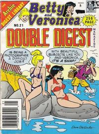 Cover Thumbnail for Betty and Veronica Double Digest Magazine (Archie, 1987 series) #21