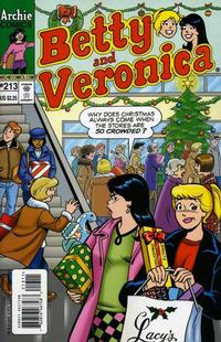 Cover Thumbnail for Betty and Veronica (Archie, 1987 series) #213