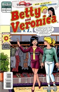 Cover Thumbnail for Betty and Veronica (Archie, 1987 series) #215